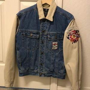 Women's Warner Bros. Denim jacket.